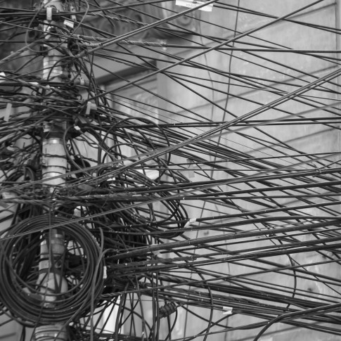 Cables of Communication, Bucharest, Romania