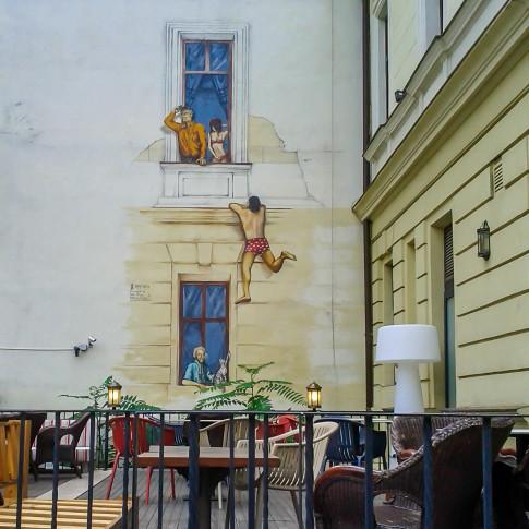 Graffiti in Bucharest, Romania
