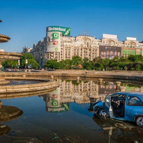 Car Washing, Bucharest