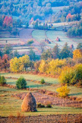 Morning in Maramures, Romania