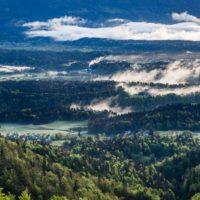 Landscape in Slovenia