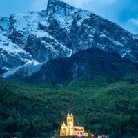 Blue hour in Rural Slovenia