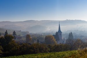Mist in Transylvania